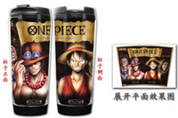 ace space - OP New One Piece LULLY Ace ZORO Chopper Nami Sanji Nico Robin Double Insulation Mug Coffee Cup Space Cup