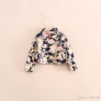 Cheap 2014 Autumn New Girl Camouflage Fashion Brief Paragraph Coat Locomotive Children's Jackets f16e081101