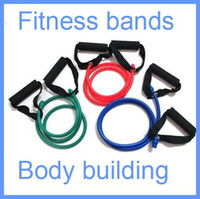 exercise stretch band - Resistance Band Stretch Fitness Tube Latex Cable Workout Yoga Muscle Exercise Rope Tool Free Drop shipping