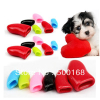 Cheap Free Shipping 20pcs Soft Pink Pet Dog Cat Kitten Paw Claw Control Nail Caps Cover