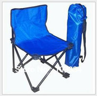 Cheap Brand New 3 Size Portable Folding Oxford Antiskid Fishing Chair Beach Stool Chair With Carried Bag