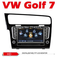 Wholesale Car DVD Golf VW Volkswagen GPS Car PC console Multimedia G wifi Navigation HD touch video Factory Price Free Map