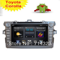 Cheap New 2Din In Dash Car Radio CD DVD Player GPS Audio Aux Pure Fastest Android 2.3 WIFI 3G Toyota Corolla 2008-2010 DVB-T Option