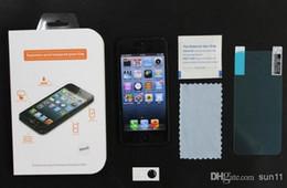 Écrans 4s en Ligne-Gorille trempé verre écran Film Shatter & Scratch-Proof protecteur écran protecteur pour IPHONE 4 4 s 5 5 5 s avec la boîte au détail