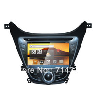 touch screen lcd tv - 2012 Hyundai Elantra Android quot LCD Car PC DVD Player GPS Navigation G WiFi Bluetooth DVB T TV Capacitive Touch Screen Option