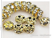 Wholesale RONDELLE WAVE EDGE SILVER PLATED CLEAR RHINESTONE SPACER BEADS Wave Flower Side Edge mm Dia