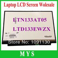 Wholesale LTD133EWZX LTN133AT05 inch LCD screen laptop screen
