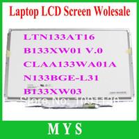 Wholesale 13 quot LCD panel Brand new Grade A LP133WH2 TLA1 TLA2 B133XW01 V V CLAA133WA01A LTN133AT16