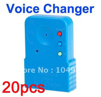 Wholesale Telephone Cell Phone Voice Sound Changer Device Microphone Sound Disguiser Free Express