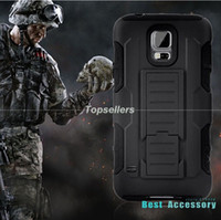 samsung galaxy s4 - For Samsung Galaxy S4 S5 Future Armor Impact Rugged Hybrid Black Hard Case Cover Belt Clip Holster Kickstand Combo