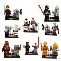 Wholesale Star Wars Figures SY198 Building Bloks Sets Model Toys Minifigures Brick Toys