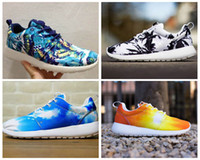 Wholesale New Brand Name Brand Logo Roshe Run Men And Women Running Shoes Fashion Athletic Casual Sports Shoes Hemp Palm Boys Mesh Free Run Shoe