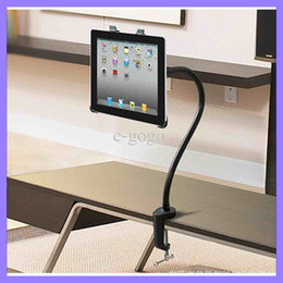 Wholesale Lazy Bracket Metal Stand Holder for Ipad Air Mini inch Tablet PC Flexible Universal Hose Adjustable Clamp Stand Holder for Desk Bed