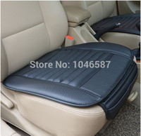 Wholesale car supplies Car seat covers spring summer premium car seat cushion bamboo charcoal leather monolithic seat cushion