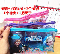 Cheap Snow princess Bags Pencils Best Snow princess Pencil Cases