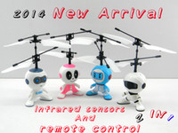 Wholesale Top selling Color magic ufo Mini Flying Robot RC Helicopter Education and learning toys English packaging