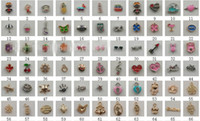 Wholesale 107pcs styleAlloy pend Floating Charm For Glass Locket Origami Owl Floating Charm Pendant Jewelry Accessories charms diy Cheap Price