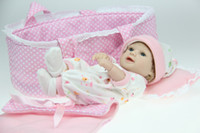 Cheap OP-12'' soft sleeping realistic baby doll baby toys mini silicone vinyl reborn baby girl girls toys limited collection
