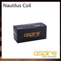 Cheap Aspire Nautilus Coils For Aspire Nautilus Tank Kit Bottom Dual Coil Head 16ohm 1.8ohm E-cigarette Atomizer Nautilus Replacement Coil