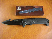 Wholesale Drop shipping Strider F34 folding knife Pocket knives Cr15 hrc Black blade g tactical knives hunting camping military tool retail box