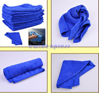 microfiber cleaning cloth - 50X Microfiber Towel Car Cleaning Wash Clean Cloth car clean towel Car Care Hot