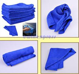 Wholesale 50X Microfiber Towel Car Cleaning Wash Clean Cloth car clean towel Car Care Hot