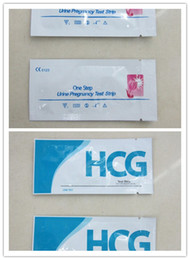 Wholesale New Arrive HCG Urine Pregnancy Test Strip LH Ovulation Test Strip