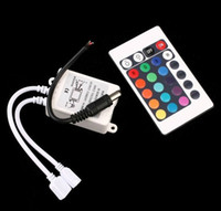 Wholesale DHL v Keys IR Remote Controller for RGB LED Strip light