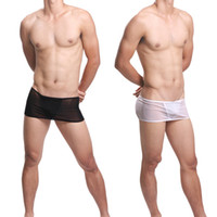 Cheap Men's Lace Skirt T Back G-strings Underwear ! Sexy See Through Thongs Lingerie for Male ! Mesh C String Novelty Skirts Shorts