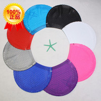 Wholesale Genuine Long Beach cap unisex hair super comfortable waterproof silicone swimming cap hair cap drops