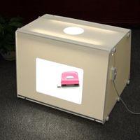 Wholesale by DHL SANOTO Portable Mini Photo Studio Photography Light Box Photo Box MK50 Softbox For Network EBAY seller V