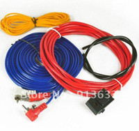 Cheap In stock New Car Motorcycle Audio Power Cable Amplifier Wiring Kit