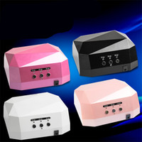 nail color machine - Fashion CCFL LED Nail Dryer UV Nail Dryer Color W W UV LED Gel Nail Lamp Gel Curing Tube Light Nail Art Polish Dryer Machine V V