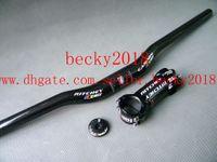 mtb - new WCS Full carbon fiber handlebar MTB Bike handlebar stem top cap