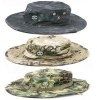 Super-sniper Avis-Nouvelle couleur Armée militaire BONNIE HATS Bonnet à bord rond Bonnet James Super Light Chapeau de pêche sniper 65% polyester 35% coton