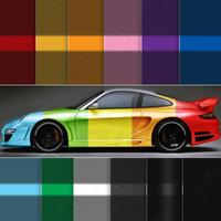 Wholesale Promoting Sale quot x60 quot cmx152cm All Color Auto Car Styling Vinyl Wrap Cover Air Release Self Adhesive Sticker Film
