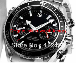 Wholesale AAAA Luxury Big DIVERS WATCH HAND WINDER BLACK DIAL High Quality mechanical automatic brand famous Watch Men s Watches