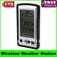 Household Hygrometer Household Wireless Weather Stations with Clock