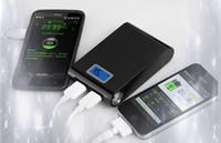 achat en gros de batterie q8-Q8 banque de puissance haut de gamme 12000mah livraison gratuite, lumières LED, usb, 18560 piles de rechange