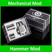 Cheap E Cigarette E Pipe hammer Mod Mechanical Mod HammerTube body for 18350 Battery 510 thread atomizer electronic cigarette