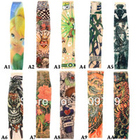 Wholesale P Slip On Temporary Tattoo Sleeves Kit Children Arm Stockings Fashion H6037 W