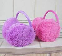 Wholesale 2014 solid children active unisex faux kill earmuff earmuffs accessories ear muffs kids winter protective warmer warmers