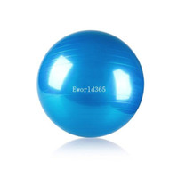 Wholesale 75CM Swiss Yoga Home Gym Exercise Balance Pilates Equipment Fitness Anti Burst Ball Cx97