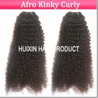 Wholesale Brazilian Hair Weave Human hair Weave Virgin Hair Extension bundles mix length Afro Kinky Curly Hair