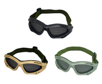 Wholesale Hot selling Fashion Tactical Equipment Paintball Metal Wire Mesh Airsoft Safety Goggle lowest price