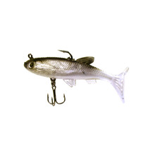 sea fishing tackle - New cm g Sea Soft Fish Bait Lead Head Carp Fishing Lures Bass Sharp Treble Hook T Tail Fishing Tackle H11579