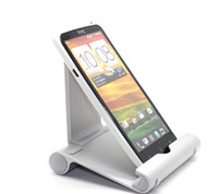 Wholesale 2014 newest Universal Multi angle Stand Metal Holder Lazy Bracket Metal Silver Stand Holder for ipad mini Samsung i5100
