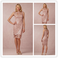New Collection 2015 Sexy Crew Lace Mother of the Bride Dress...