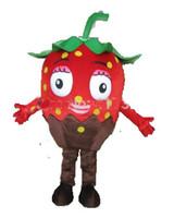 100 % fruits costume de mascotte photos réelle de fraise adulte déguisements pour enfants partie en mousse EVA livraison gratuite