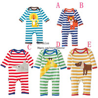 Wholesale Boy Girl Wear Children Clothes Baby One Piece Romper Jumpsuit Rompers Kids Romper Baby Rompers Boys Girls One Piece Clothing Toddler Romper
